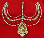 Traditional Designer Goldtone Indian Forehead Jewelry Maang Tikka Matha Patti