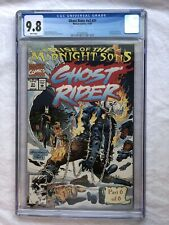 Ghost Rider #31 CGC 9.8 First Full Appearance The Midnight Sons RARE 1/32 9.8s