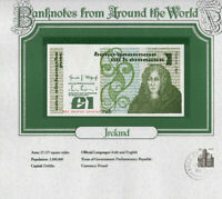 World Banknotes Ireland 10-07-1984 1 pound UNC P 70c UNC Low DKI 003963