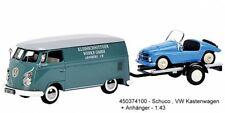 Schuco 450374100 - VW T1C Box Truck Kleinschnittger with Trailer and F 125