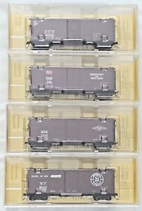 Lot 4 NEW-Kadee Boxcar-4010 D&H-4016 Green Bay & Western-4020 Rock Island-4021 M
