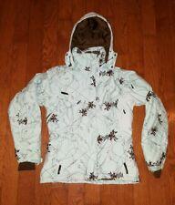 Women's SALOMON Winter Ski Coat Size Small  Insulated Coat CLIMA PRO ACTI LOFT