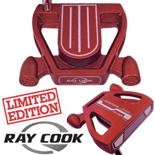 Ray Cook Red Spider Putter Ltd Edition 33 pouces Shaft R/H Brand New + FREE GIFTS