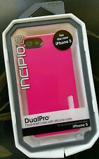 Incipio iPhone 5 DualPro Pink Hard-Shell Case w Silicone Core IPH-922