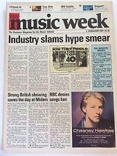 MUSIC WEEK MAGAZINE  2 FEBRUARY 1991  MIDEM '91   LS
