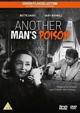 Another Mans Poison DVD Bette Davis Gary Merrill Cohen Film 2K Restored Edition
