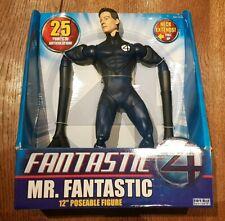 1/6 scale Fantastic Four MR. Fantastic Articulated Figure 12 inch figure 2005