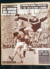 Miroir des Sports 29/2/1960; Le triomphe de Vuarnet à Squaw Valley/ Nul du XV