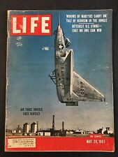 Life Magazine May 20 1957 Air Force's first veritcal jet