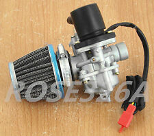 Carburettor W/ Air Filter ETON 50cc 90cc 100cc Viper 2-Stroke Carb