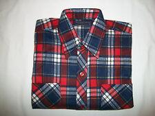 Raymond Chemise Men's Casual Dress Long Sleeve Plaid Shirt - Size M