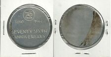 1966 Union 76 76th Anniversary Medal