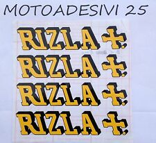 Kit 4 adesivi RIZLA REPLICA GRAFICHE CARENE MOTO GP snowboard MONSTER REDBULL