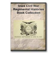 Iowa Civil War Regiment History Union Infantry Genealogy 17 Book Set B379