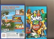 THE SIMS 2 Pets PLAYSTATION 2 PS2 PS 2 simulatore di vita