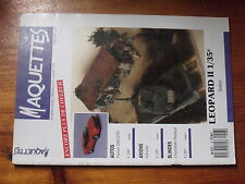 $$u Revue Maquettes N°6 Leopard II  Ferrari 288 GTO  Intruder  Chenillette Renau