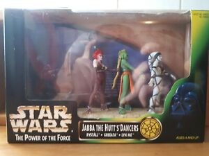 Kenner Star Wars Jabba the Hutts Dancers OVP Unpunshed Actionfiguren 1998