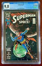 SUPERMAN #28 CGC 9.8 WP NM/M (DC 1989) NICK FURY AGENT OF S.H.I.E.L.D #6 🔑