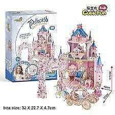 3D Puzzle Castello Principesse - Cubic Fun - E1623h - 5+ anni