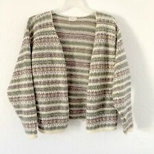 Vintage ALPS Aztec Grandma Cardigan Sweater Geographic Womens Large Button-Up