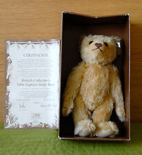 Steiff 1990 EAN 406096 British Collector's Replica Teddy Bear 1906 LE/3000