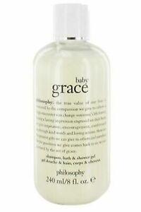 Philosophy Baby Grace Shampoo, Bath and Shower Gel 240ml