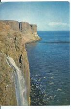 Colour Postcard of The Kilt Rock, Near Staffin, Isle of Skye