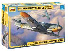Zvezda 1/48 Messerschmitt BF-109 G6 GERMAN FIGHTER AEREO #4816