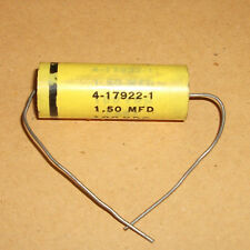 Fast Polystyrene 1.5 MFD UF Axial capacitor  100 VDC  For Valve Amps