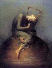 HOPE painting by GEORGE FREDERIC WATTS art CANVAS print