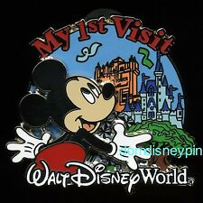 Disney Pin WDW *My 1st First Visit to Walt Disney World* Mickey (3D)!