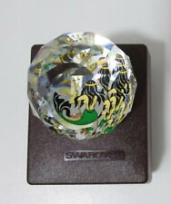 Swarovski Crystal Mermaid Colorful Round Decorative Paperweight-Beautiful-New