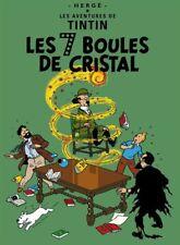 Affiche Offset Tintin Les 7 Boules de cristal