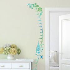 Frozen Elsa Height Chart Wall Decal Removable Sticker Kids Nursery Girls Decor