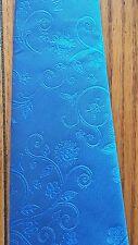 MASONIC BLUE NECKTIE  60 1/2 INCHES LONG