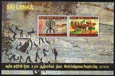 SRI LANKA MNH 2010 WORLD INDIGENOUS PEOPLES DAY MINISHEET