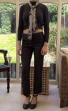 Karen Millen Wool Blend Straight Leg Trousers for Women