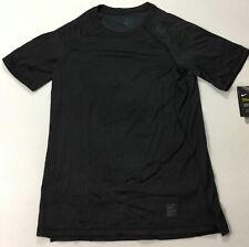 Nike Pro Men's Short Sleeve Hypercool Gym T-Shirt AT3653 Black 010 Size M