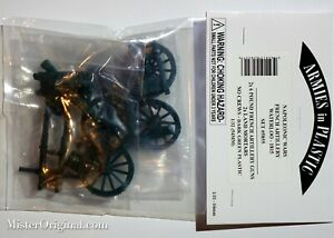 Armies in Plastic Napoleonic Wars French 6-pound Artillery & Mortars 1/32 54mm