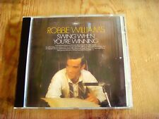 Usado -CD ROBBIE WILLIAMS - SWING WHEN YOU'RE WINNING - Item For Collectors
