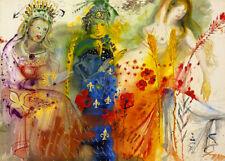 Salvador Dali  Seasons Summer canvas print giclee 8X12&12X17