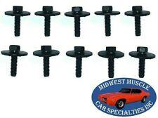 Chrysler Dodge Plymouth Body Fender Frame Factory Correct 1/4-20 Bolts 10pcs B