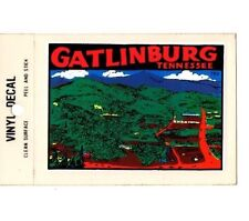 Lot of 12 Gatlinburg Tennessee Souvenir Luggage Decals Stickers - New - Free S&H
