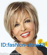 Hot Fashion Women's Ladies Short Mix Blonde Natural Hair Wigs