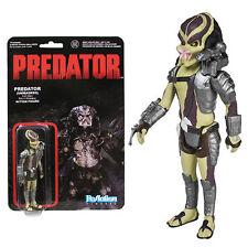"Predator Closed Mouth Predator ReAction 3 3/4"" Retro Figure - New damaged card"