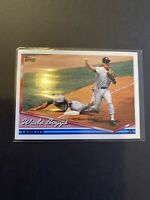 1994 Topps Pre-Production New York Yankees Baseball Card #390 Wade Boggs