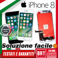 DISPLAY LCD+TOUCH SCREEN+FRAME ORIGINALE PER APPLE IPHONE 8 8G SCHERMO VETRO_24H