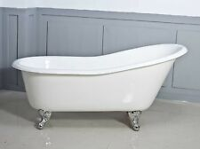 NEW Slipper cast iron claw foot bath 1560mm EXCLUSIVE BATH SUPPLIERS SINCE 1976