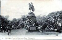 1905 PHILADELPHIA Washington Monument Fairmount Park Pennsylvania Postcard CW