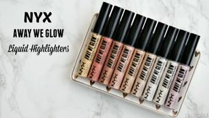 NYX Professional Makeup Away We Glow Liquid Highlighter,